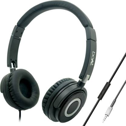 boAt BassHeads 900 Super Extra Bass Wired Headset with Mic
