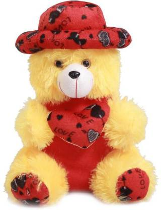 Express Cap Teddy Bear, Super Soft Plush Stuff Toy