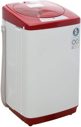 Haier 5.8 kg Fully Automatic Top Load Red
