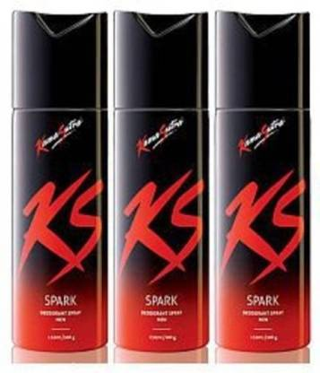 KS SPARK 3 Deodorant Spray - For Men & Women