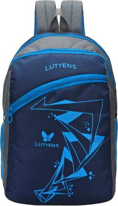 Lutyens 26 LTR Blue School Bag with Laptop Pocket (Lutyens_501) Waterproof School Bag