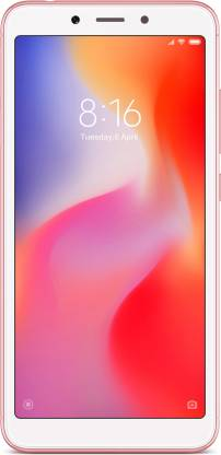 Redmi 6 (64 GB)  (3 GB RAM) - 12MP + 5MP | 5MP Front Camera