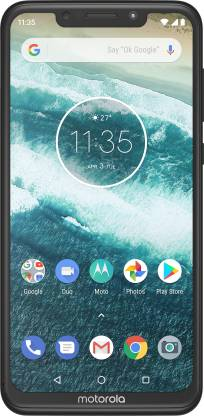 Motorola One Power (Black, 64 GB)  (4 GB RAM) - 16MP + 5MP | 12MP Front Camera